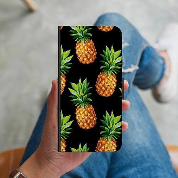 Huawei Y6 (2018) Plånboksskal Ananas