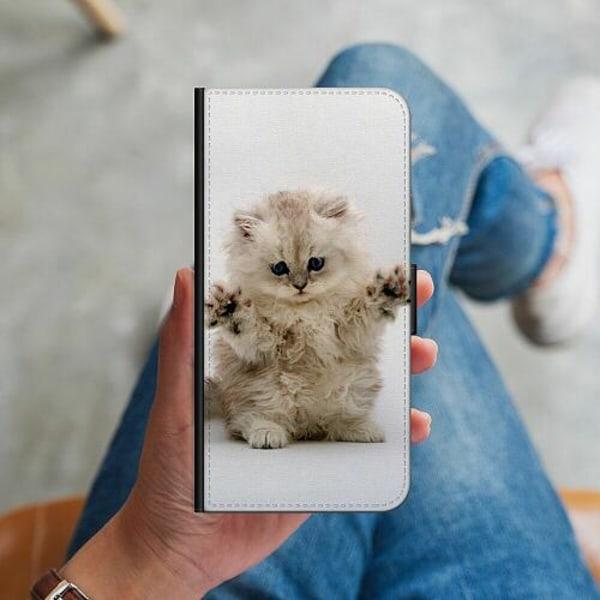 Apple iPhone 12 mini Plånboksskal Katt