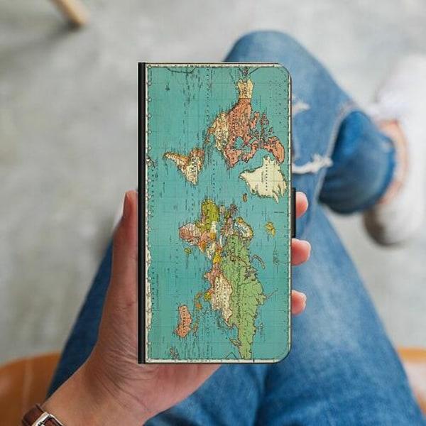 Samsung Galaxy Note 9 Plånboksskal World Map