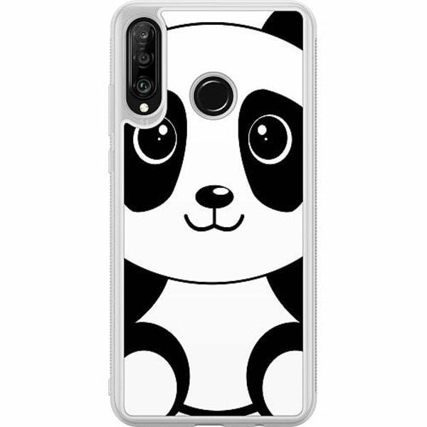 Huawei P30 Lite Soft Case (Frostad) Panda