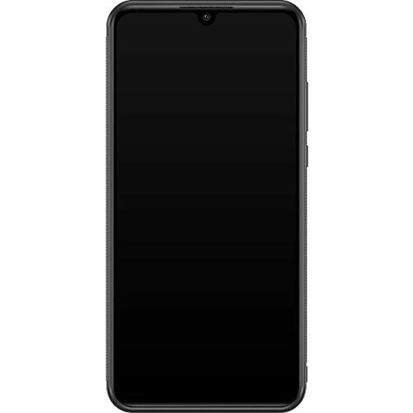Huawei P30 Lite Soft Case (Svart) Blommor
