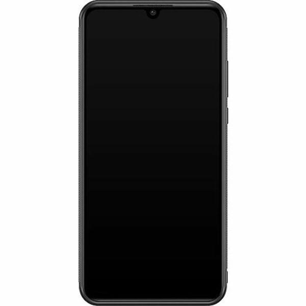 Huawei P30 Lite Soft Case (Svart) Marble Diamond