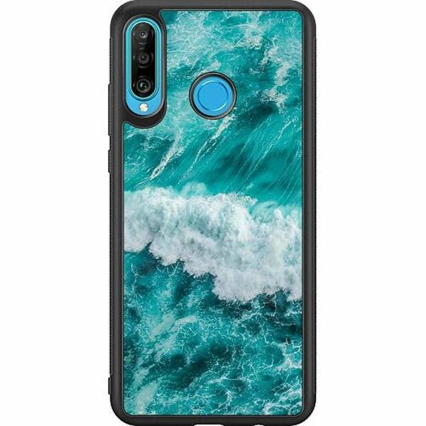 Huawei P30 Lite Soft Case (Svart) Ocean