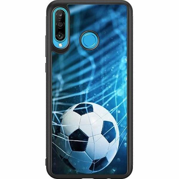 Huawei P30 Lite Soft Case (Svart) VM Fotboll 2018