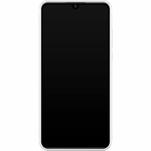 Huawei P30 Lite Soft Case (Vit) Wolf / Varg