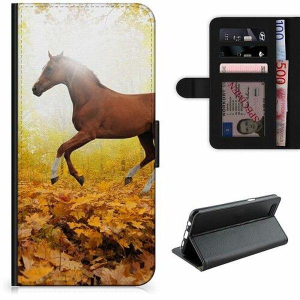 Apple iPhone 7 Lyxigt Fodral Häst / Horse