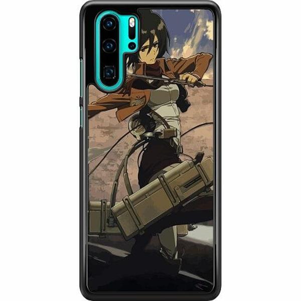 Huawei P30 Pro Hard Case (Svart) Attack On Titan