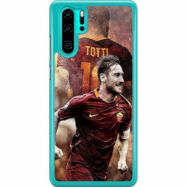 Huawei P30 Pro Hard Case (Transparent) Francesco Totti