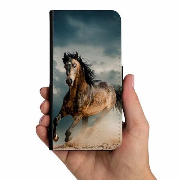 Samsung Galaxy A40 Mobilskalsväska Häst