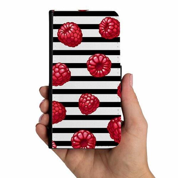 Samsung Galaxy A40 Mobilskalsväska Raspberries