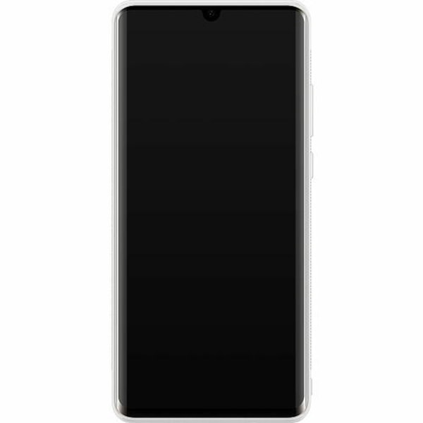 Huawei P30 Pro Soft Case (Vit) Billie Eilish