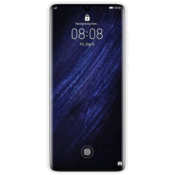 Huawei P30 Pro Vitt Mobilskal med Glas Free Fire