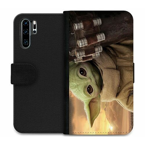 Huawei P30 Pro Wallet Case Baby Yoda