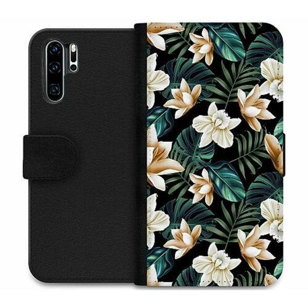 Huawei P30 Pro Wallet Case Blommor