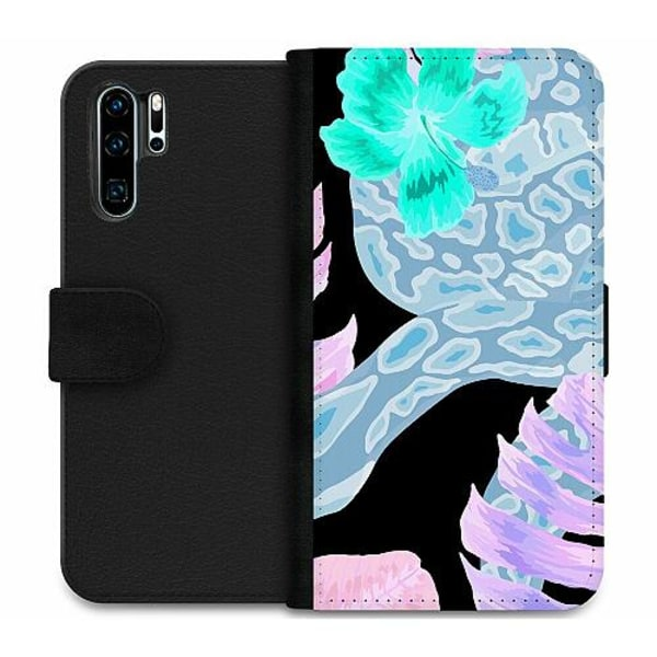Huawei P30 Pro Wallet Case Wanded Inverted