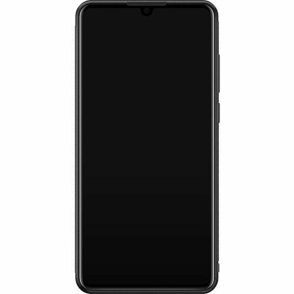 Huawei P30 Soft Case (Svart) FUCK YOU *