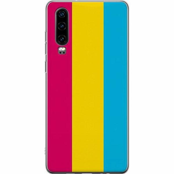 Huawei P30 Thin Case Pride - Pansexual