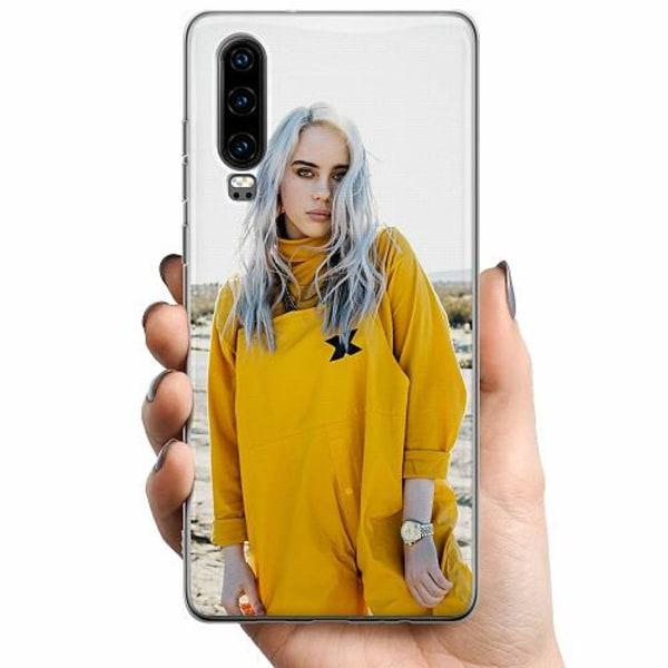 Huawei P30 TPU Mobilskal Billie Eilish 2021