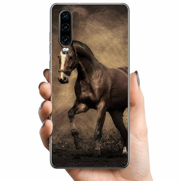 Huawei P30 TPU Mobilskal Häst / Horse