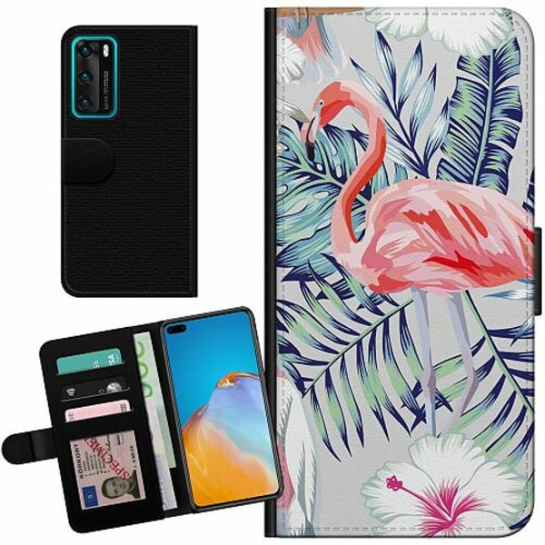 Huawei P40 Billigt Fodral Flamingo