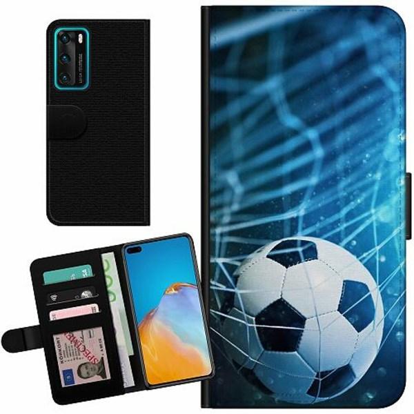 Huawei P40 Billigt Fodral Fotboll