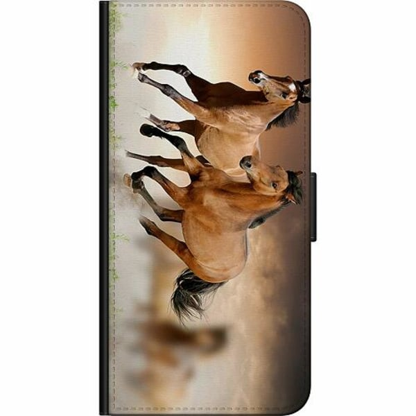 Apple iPhone 11 Billigt Fodral Hästar