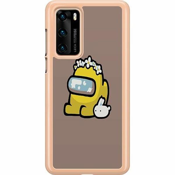 Huawei P40 Hard Case (Transparent) Among Us