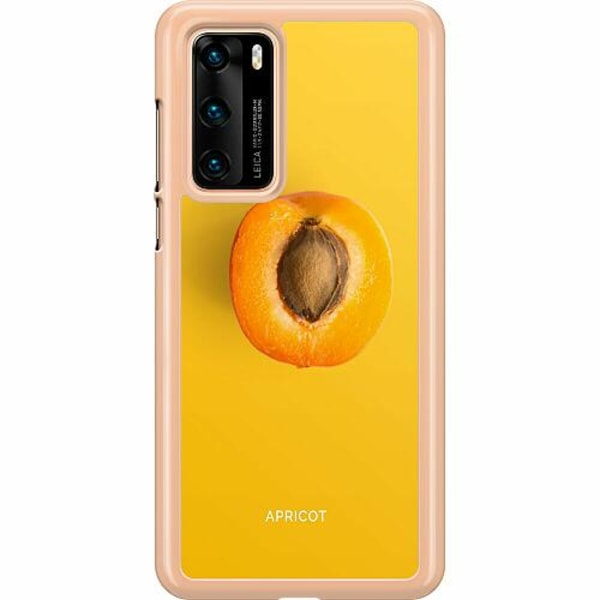 Huawei P40 Hard Case (Transparent) Apricot