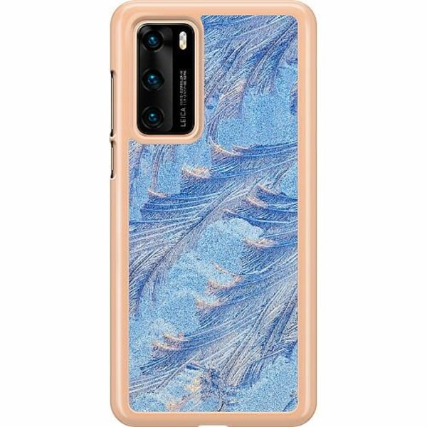 Huawei P40 Hard Case (Transparent) Arenaceous Feathers