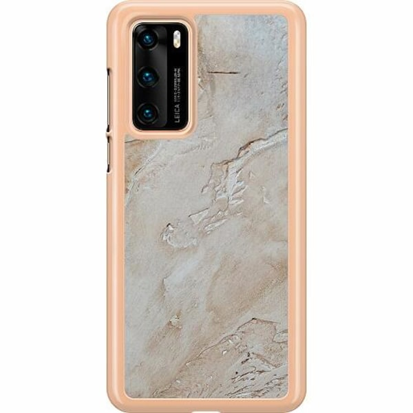 Huawei P40 Hard Case (Transparent) Arenaceous Souse