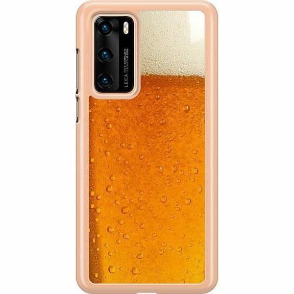 Huawei P40 Hard Case (Transparent) Beer