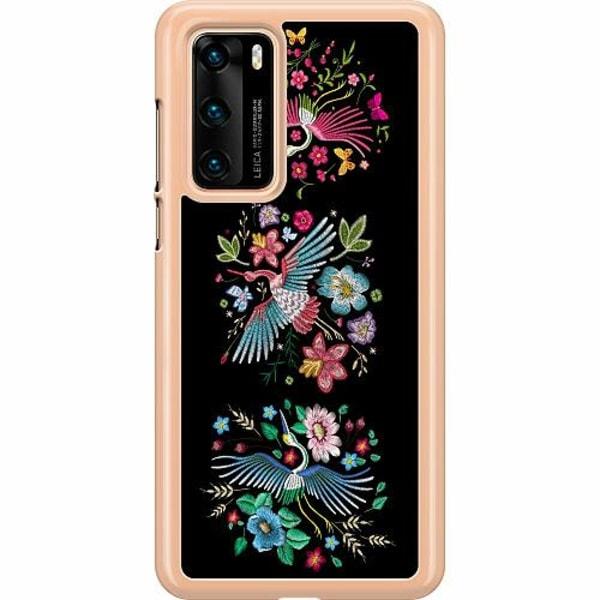 Huawei P40 Hard Case (Transparent) Birdie