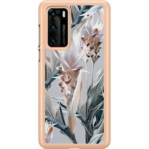 Huawei P40 Hard Case (Transparent) Bloom