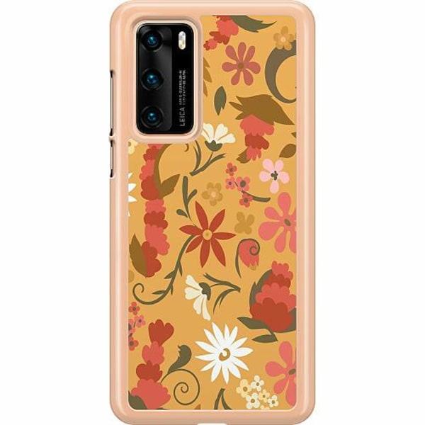 Huawei P40 Hard Case (Transparent) Bloomery