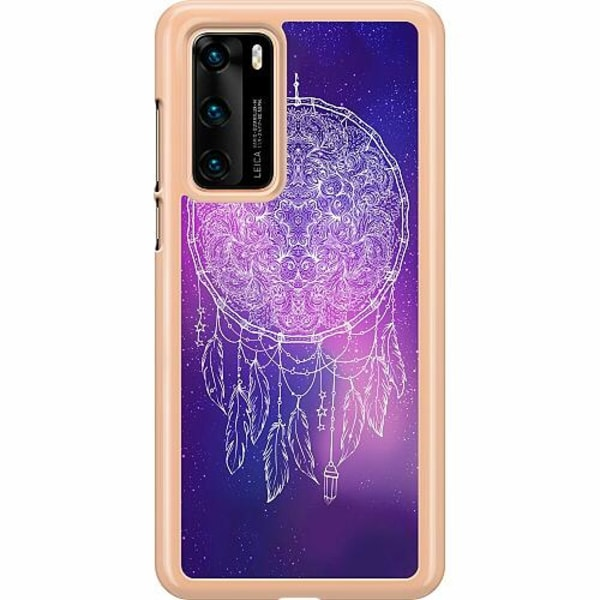 Huawei P40 Hard Case (Transparent) Catchin' Dreams