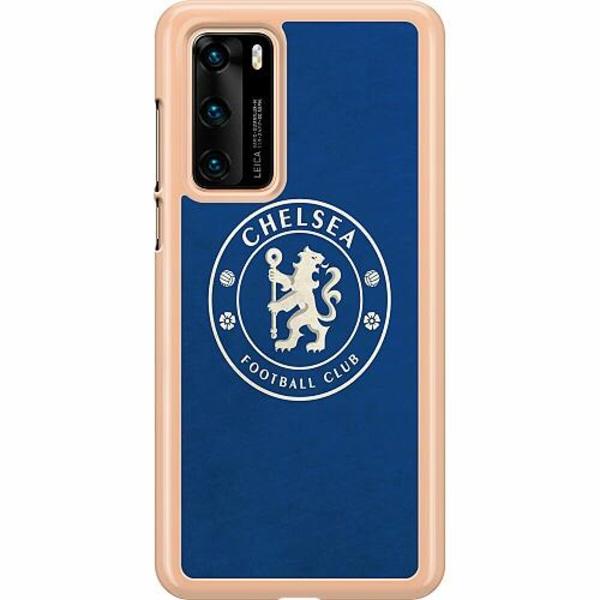 Huawei P40 Hard Case (Transparent) Chelsea Football Club