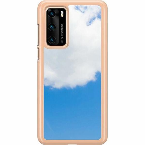 Huawei P40 Hard Case (Transparent) Cloud Is Named Louis