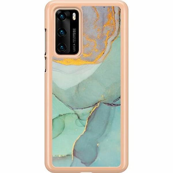 Huawei P40 Hard Case (Transparent) Coastline
