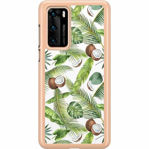 Huawei P40 Hard Case (Transparent) Coco Loco