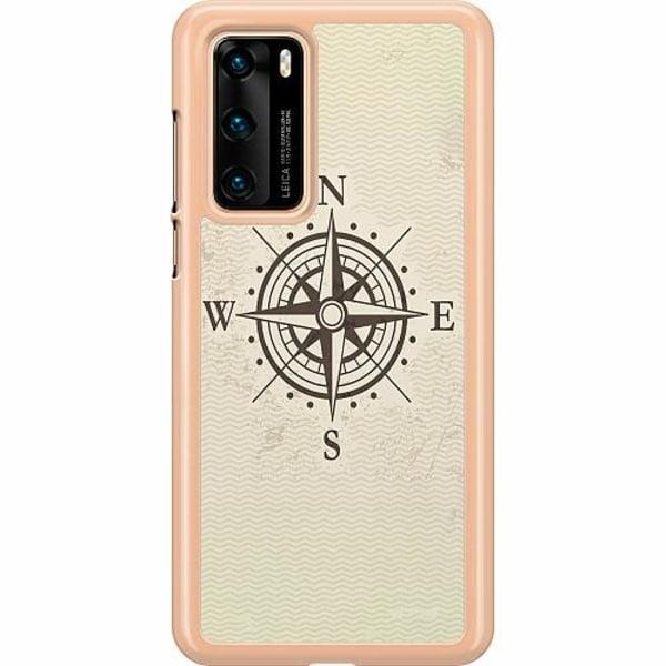 Huawei P40 Hard Case (Transparent) Compass
