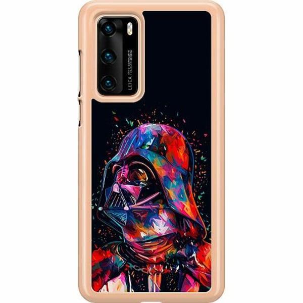 Huawei P40 Hard Case (Transparent) Darth Vader