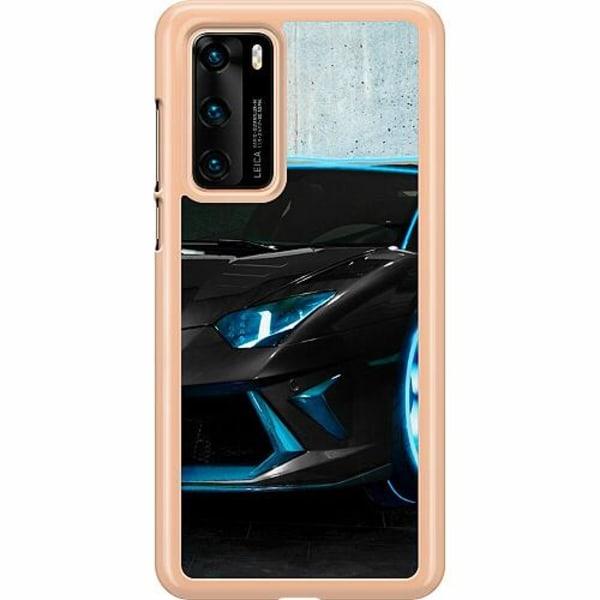Huawei P40 Hard Case (Transparent) Dude, Where's...