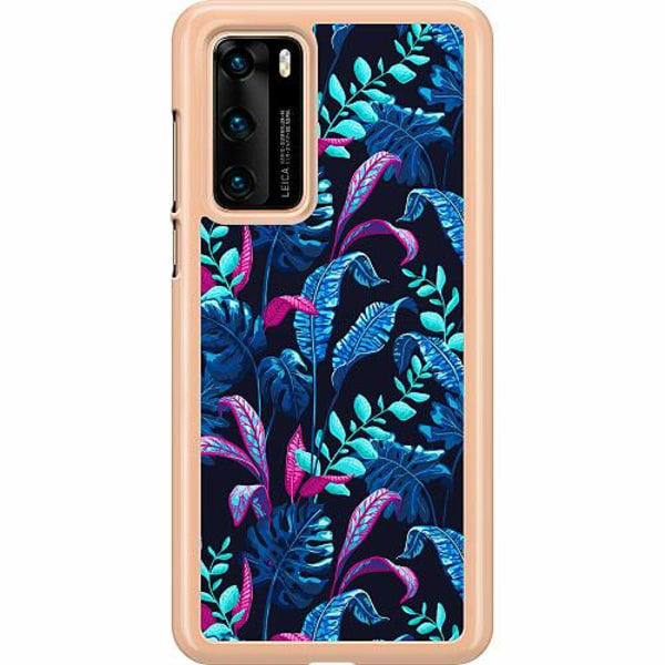 Huawei P40 Hard Case (Transparent) Fairy Forest