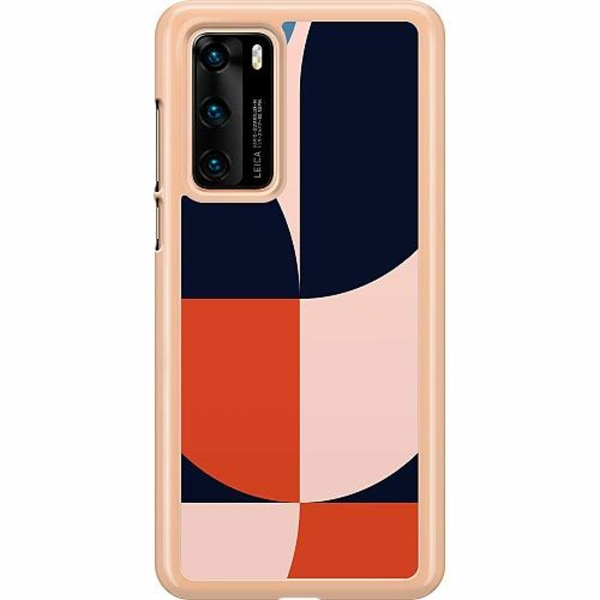 Huawei P40 Hard Case (Transparent) Famous Artistry-ish