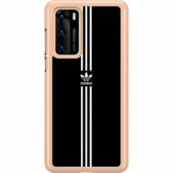 Huawei P40 Hard Case (Transparent) Fashion