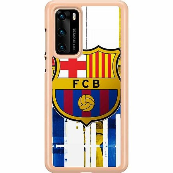 Huawei P40 Hard Case (Transparent) FC Barcelona