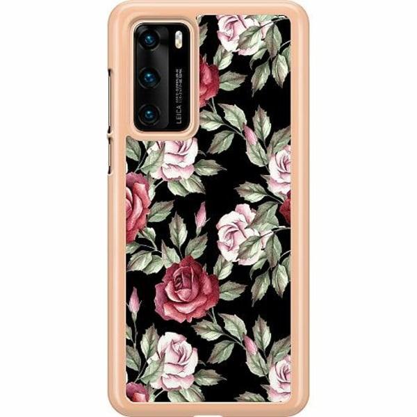 Huawei P40 Hard Case (Transparent) Floral Dream