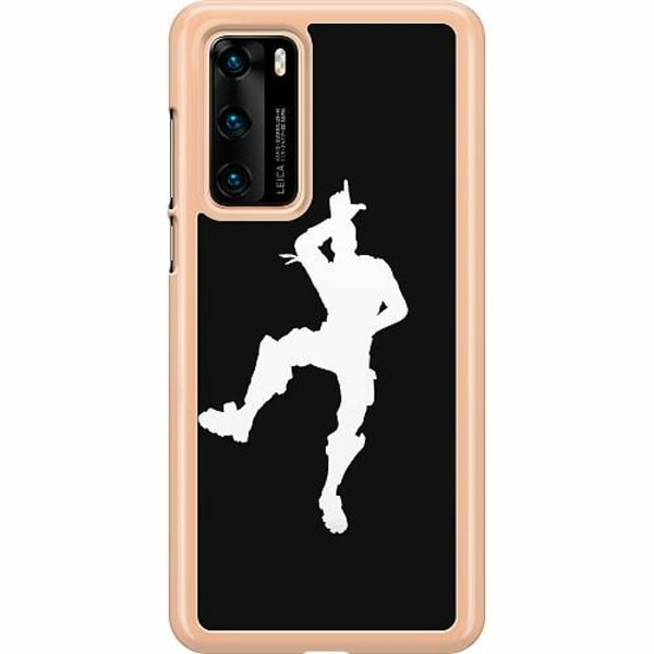 Huawei P40 Hard Case (Transparent) Fortnite Dance
