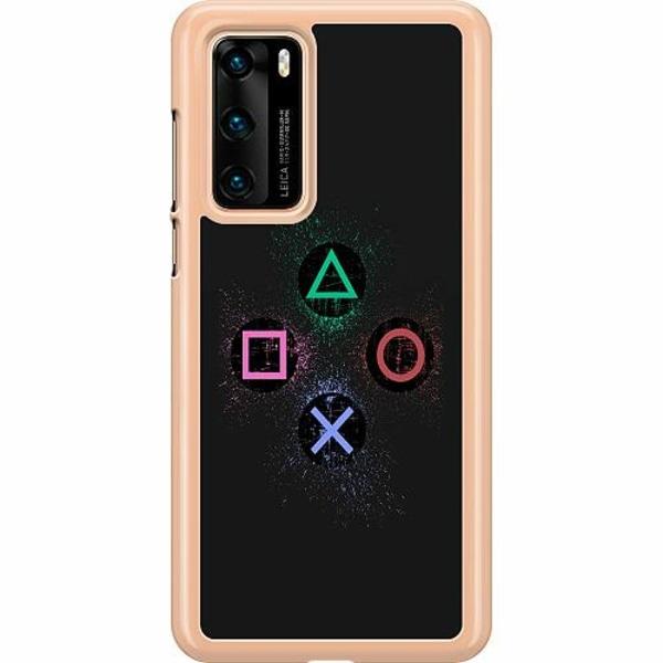 Huawei P40 Hard Case (Transparent) Gaming