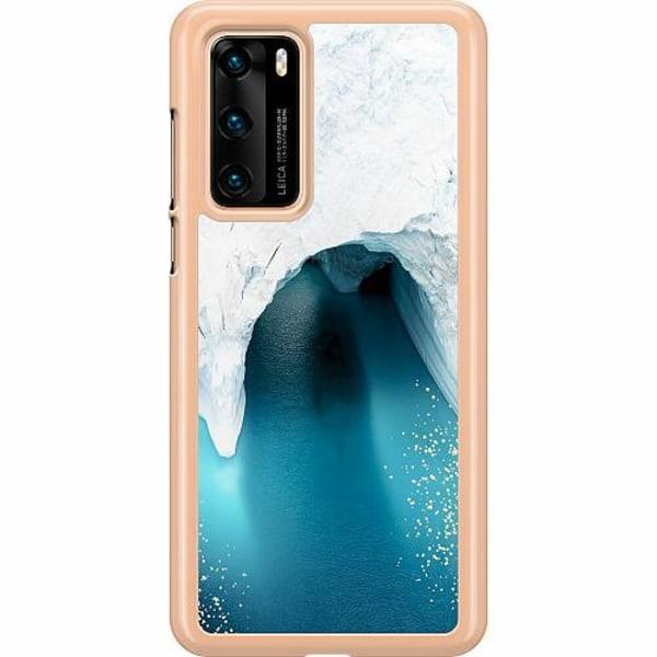 Huawei P40 Hard Case (Transparent) Glacier